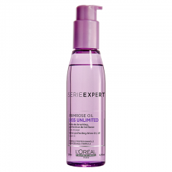 Loreal Professionnel Liss Unlimited Shine Perfecting Blow-Dry Oil 125 ml | 3474636482504