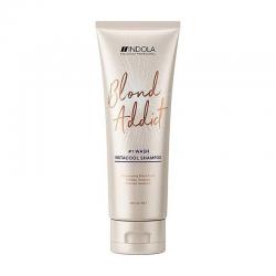 Indola Blond Addict InstaCool Shampoo 250 ml | 4045787415971