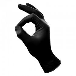 Idol Beauty Nitrile Handschoenen Zwart S 100 st