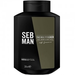 Sebastian                Seb Man The Multitasker 3-in-1 Shampoo                           250 ml
