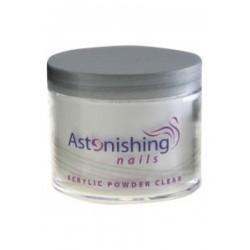 Astonishing Acrylic Powder Clear 25 gr | 8717278610689