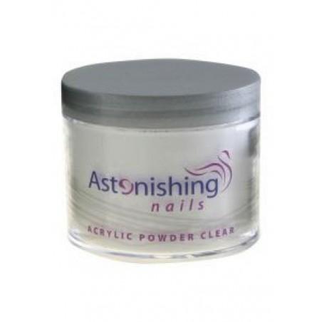 Astonishing Acrylic Powder Clear 25 gr   8717278610689