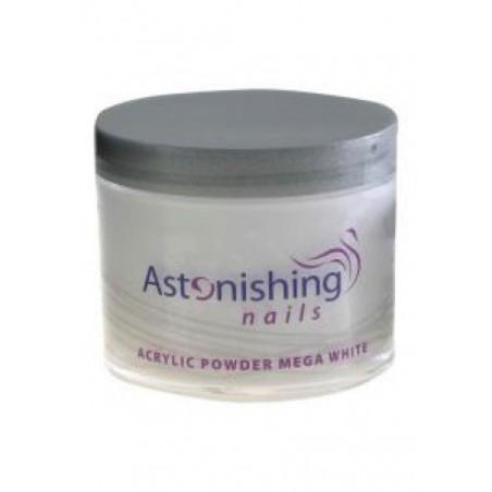 Astonishing Acrylic Powder Mega White 25 gr   8717278610849