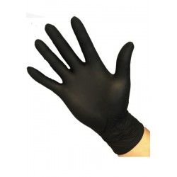Avalanche Soft Nitrile Handschoenen Zwart L 100 Stuks