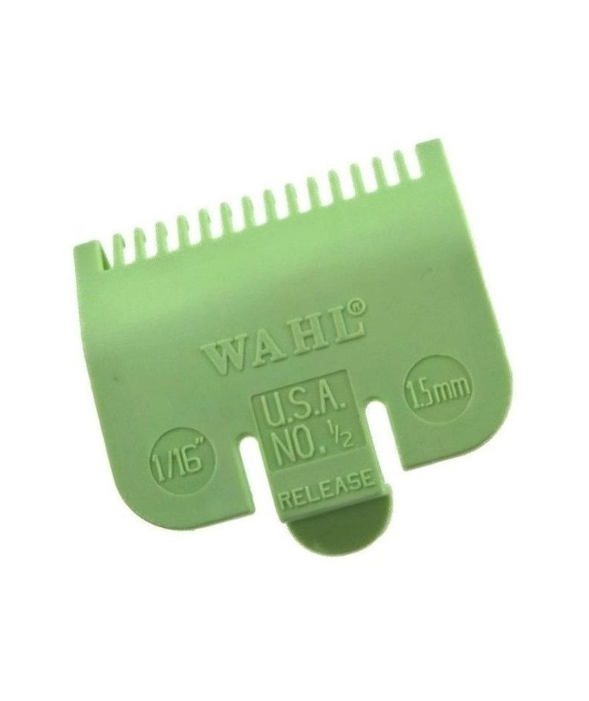 Wahl Opzet Kam Lime Groen No. 0,5 1,5mm