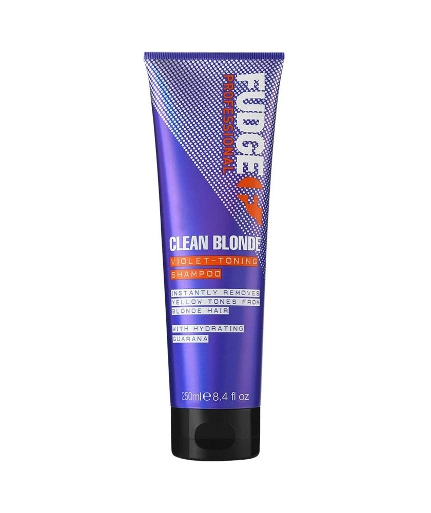 Fudge Clean Blonde No Yellow Toning Shampoo 250 ml