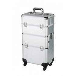 Sibel Beauty trolley two in one alu