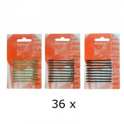 Blendrite Haarschuifjes Kort Zwart 1 x 36 Kaarten