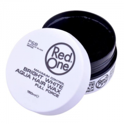 Red one Aqua Hair Wax Bright White 150 ml