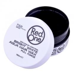 Red one Aqua Hair Wax Bright White 150 ml
