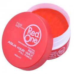 Red one Aqua Hair Wax Red 150 ml