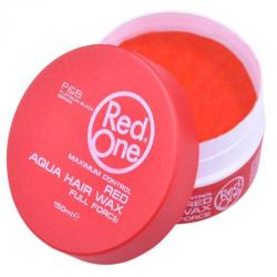 Red one Aqua Hair Wax Red 150 ml