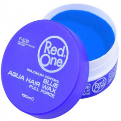 Red one Aqua Hair Wax Blue 150 ml