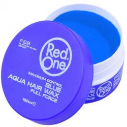 Red one Aqua Hair Wax Blue 150 ml