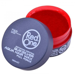 Red one Aqua Hair Wax Quicksilver 150 ml