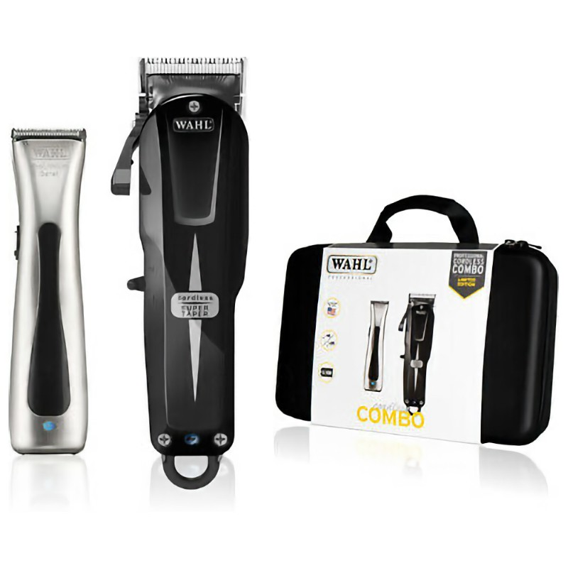 Wahl Cordless Super Taper And Berret Combo Limited Edition