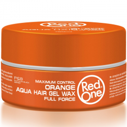 Red one Aqua Hair Wax Orange 150 ml