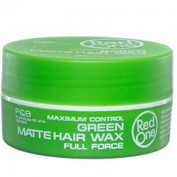 Red one Matt Hair Wax Green 150 ml
