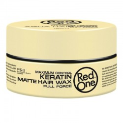 Red one Keratine Matte Hair Wax Full Force 150 ml