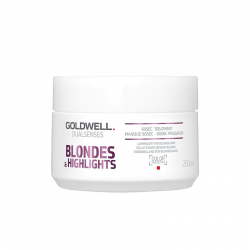 Goldwell Blondes & Highlights Anti Yellow 60 Sec Treatment 200 ml | 4021609061212